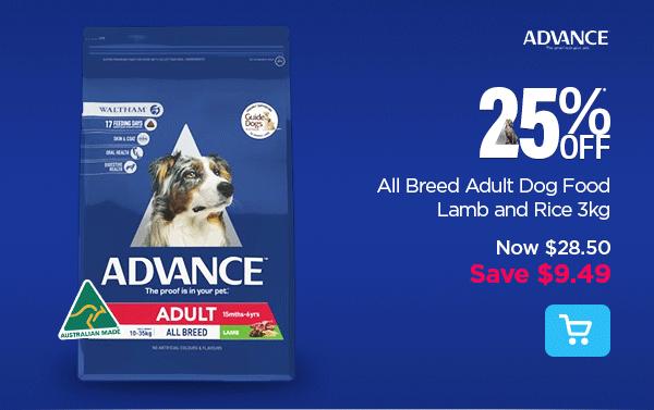 181109_04A_ Adult Lamb Rice 3kg